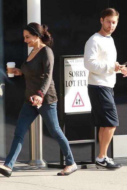 El actor de 'Spider-Man' caminaba tranquilamente por las calles...