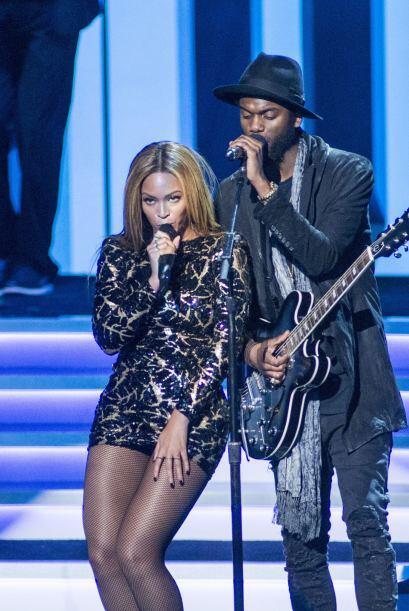 Una vez más Beyoncé logra robarse el show. Lo cierto es que la minifalda...