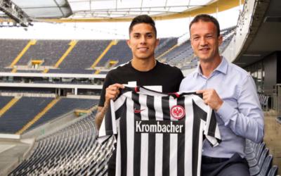 Carlos Salcedo, Eintracht Frankfurt