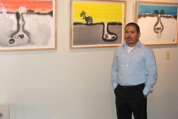 Talento Bilingüe es también sala de exhibición de artistas, en su mayorí...