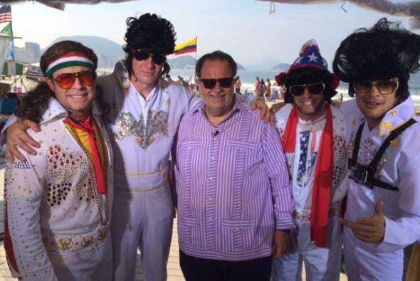 El Gordo de Molina sigue transmitiendo desde Brasil, donde tuvo como inv...
