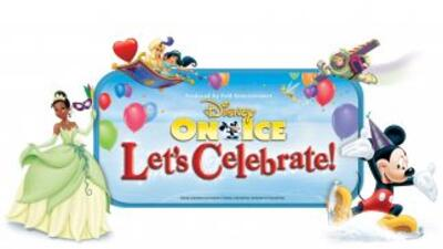 ¡Gana boletos para Disney On Ice: Let's Celebrate!