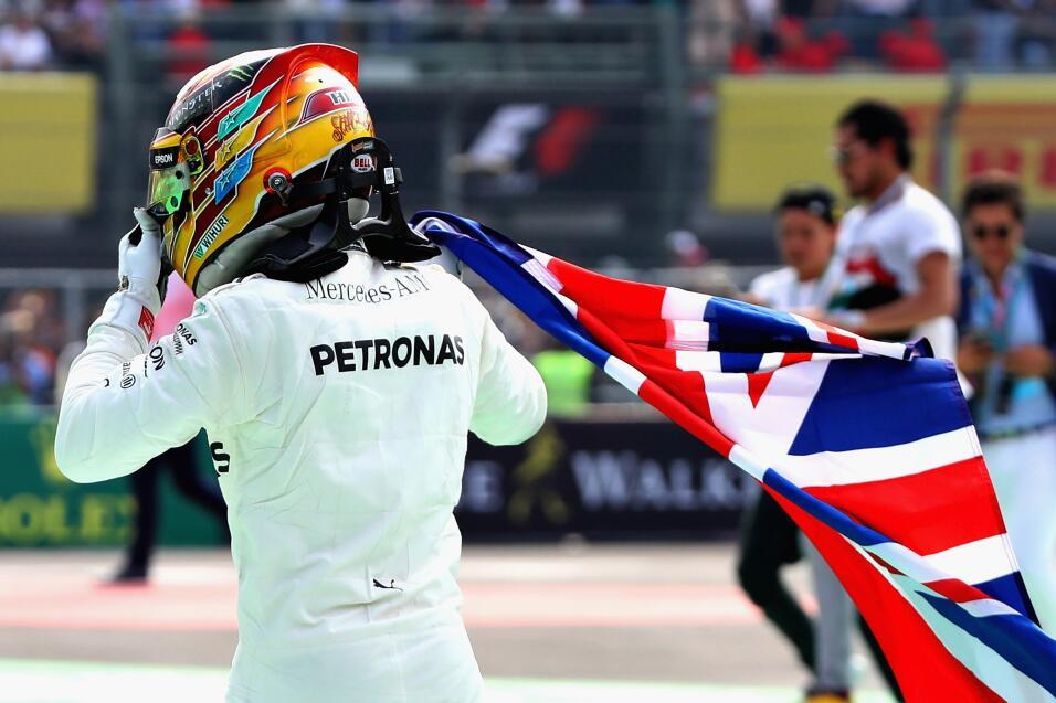 Verstappen se llevó el GP de México; Hamilton se coronó campeón gettyima...
