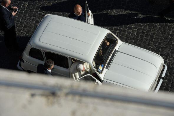 La austeridad del Papa es otra de sus fortalezas ante los fieles, &eacut...