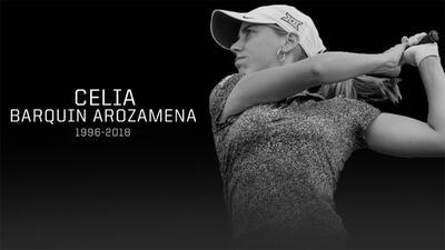 Asesinan en campo de golf de Iowa a la promesa española Celia Barquín
