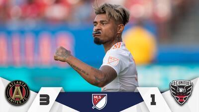 Josef Martínez logra histórico hat-trick para guiar triunfo de Atlanta sobre D.C. United