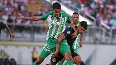 Chivas cae ante Atlético Nacional en su último partido de pretemporada