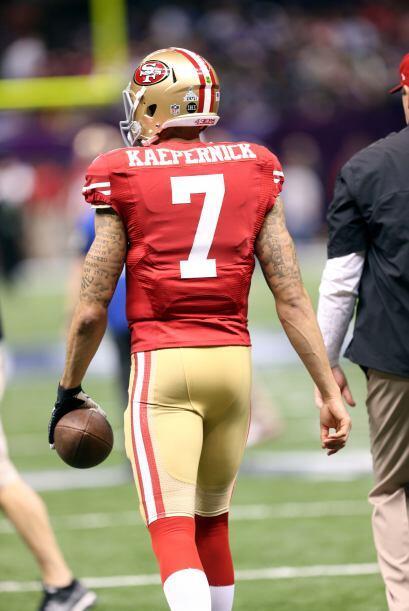 N°4  Colin Kaepernick, QB de los San Francisco 49ers (AP-NFL).