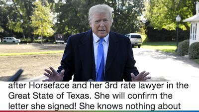 Trump llama 'cara de caballo' a Stormi Daniels y dice que está en todo su derecho