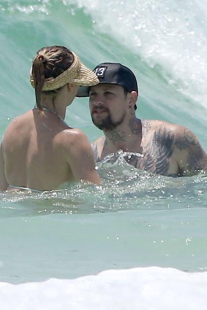 Así se divirtieron en el mar.Mira aquí los videos m&aacute...