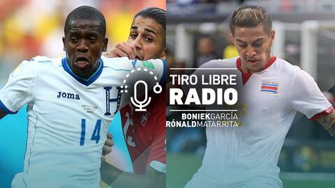 Podcast Tiro Libre Radio con Boniek García y Rónald Matarita