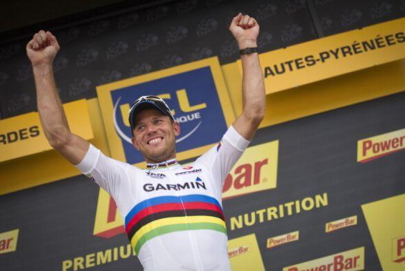 La décimotercera etapa del Tour de Francia fue conquistada por el norueg...