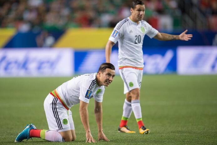 México y Jamaica igualaron sin goles en un partido con pocas emociones e...
