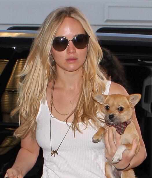 Pippi y Jennifer Lawrence