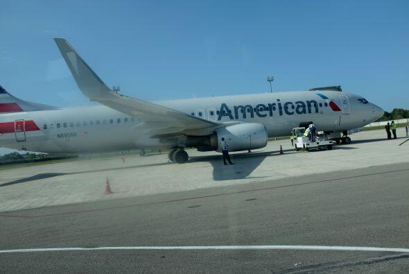 El 1 de marzo despegó de La Habana el primer vuelo charter de American A...