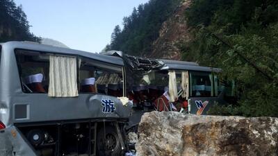 Miles de turistas evacuados en China tras fuerte terremoto de 6.5 grados de magnitud, que causa 19 muertos y 200 heridos