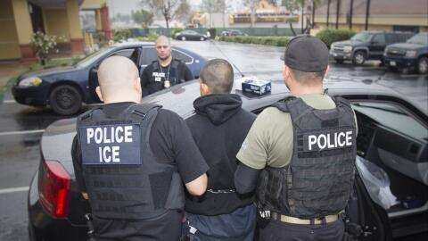 ICE ha estado muy activo en los últimos días haciendo redadas en distint...