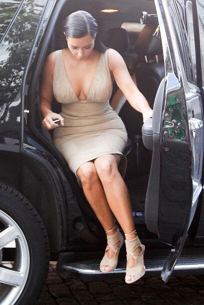 Captamos a Kim en Nueva York.Mira aquí los videos más chismosos.