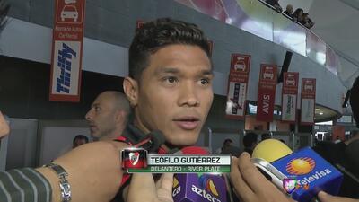 """Teófilo Gutiérrez: """"Venimos a demostrar que somos un equipo grande"""""""