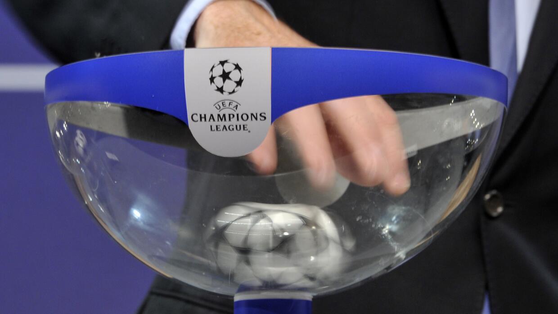 Sorteo Champions League primera fase