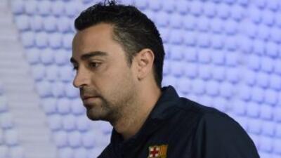 Xavi es mesurado, pero a la vez quiere dejar en claro que el Barcelona t...