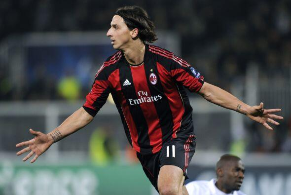 Costó trabajo, pero Zlatan Ibrahimovic, el talismán del club, puso el 1-0.