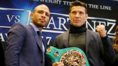 Martínez seguro de derrotar a Cotto.