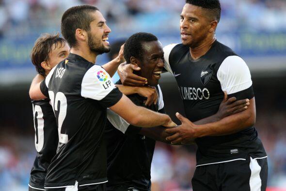 Delantero, Fabrice Olinga: A sus 16 años debutó con el Malaga y marcó un...