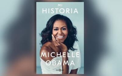 La cubierta de las memorias de la exprimera dama, Michelle Obama, es un...