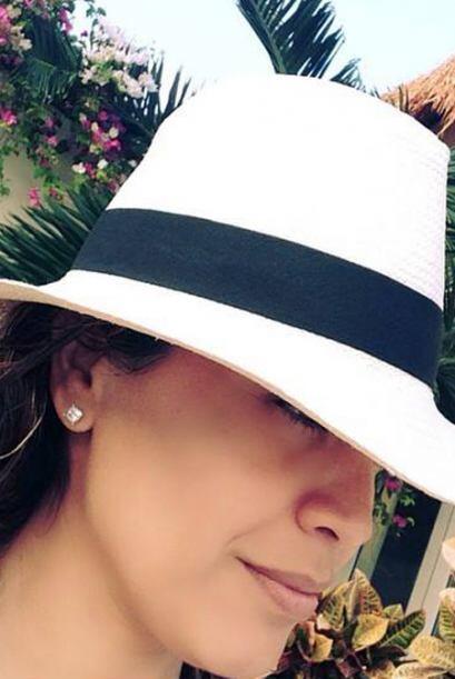 Karla Martínez se tomó unas merecidas vacaciones por el Caribe mexicano.