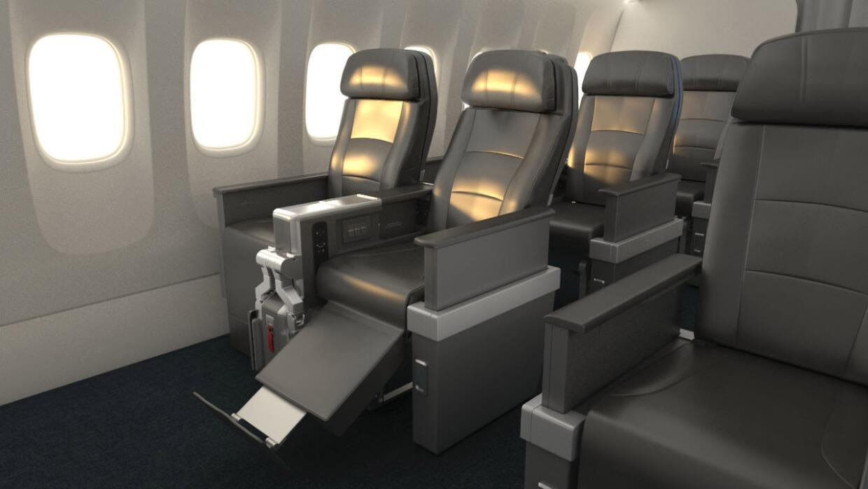 Imagen difundida por la sala de prensa de American Airlines.