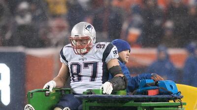 La lesión de Rob Gronkowski que dejó a los fanáticos de los Patriots sin...