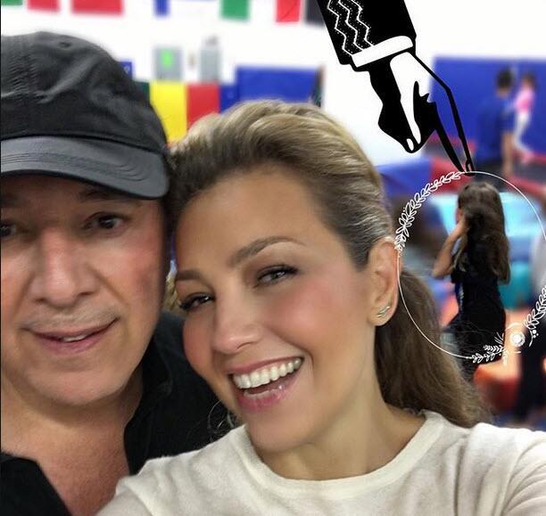Thalía cumple Sabrina Sakae