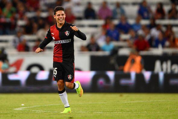 En este Apertura 2014 González se ha convertido en uno de los goleadores...