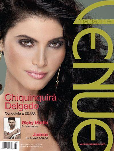 Otro logro que se suma a la carrera de esta belleza latina, fue su apari...