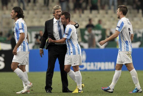 Entre los novatos este año estarán el Málaga de Manuel Pellegrini, el cu...