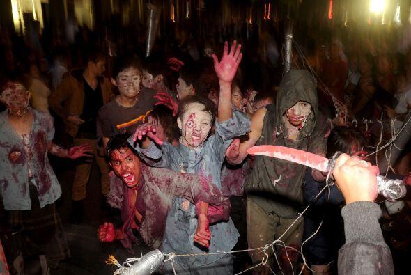¡Pero qué gran susto! Los niños zombis nos comer&aac...