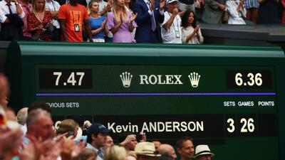 En fotos: Los partidos más largos en la historia del tenis