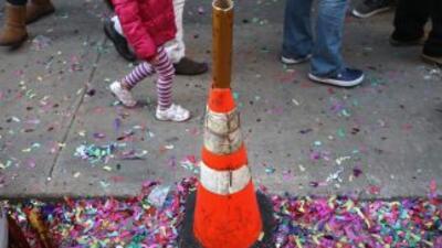 La tienda departamental Macy's, organizadora del desfile, señaló que no...