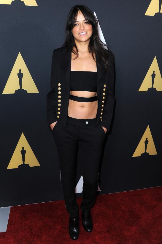 Michelle Rodríguez, la sensual 'boxeadora' de Hollywood GettyImages-4888...