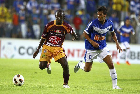 Cruzeiro ascendió a 10 puntos y el Tolima se quedó en una situación comp...