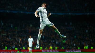 Real remontada del Madrid contra Nápoles en Champions League