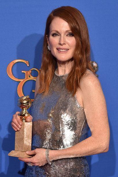 Julianne Moore se alzó como la mejor actriz en drama por la película 'St...