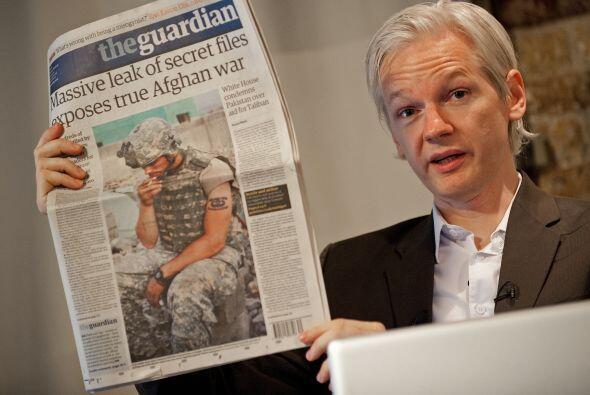 WikiLeaks causó un gran revuelo mundial cuando divulgó hace unos meses d...