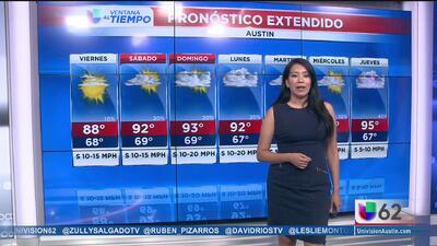 Cielos soleados y temperaturas cálidas en Austin