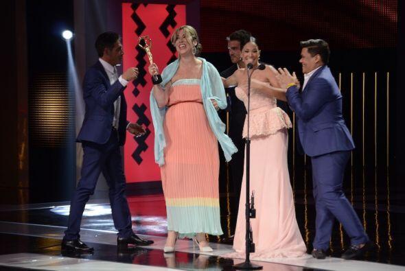 Johnny Lozada, la productora Luz María Doria, Karla Martínez y el Niño P...
