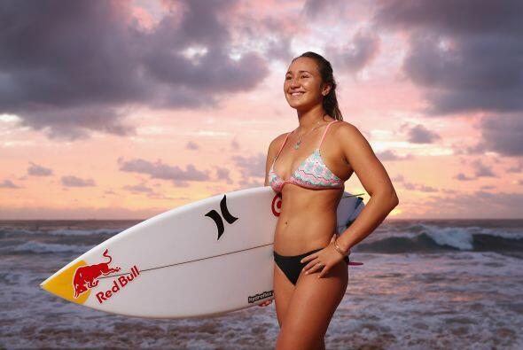 Carissa Moore es una surfista hawaiana que a los 22 ya tiene un número i...