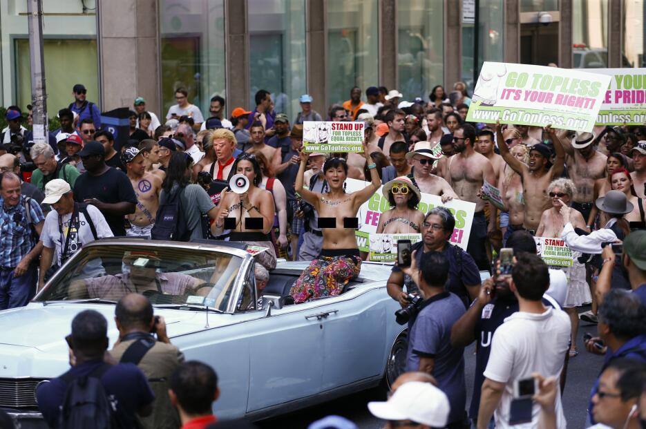 El desfile alertaba a la ciudadanía de lo que ocurre en otras ciudades.