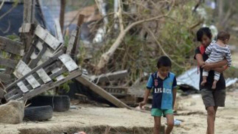 En la zona de Los Cabos quedaron destrozadas no solo las viviendas humil...