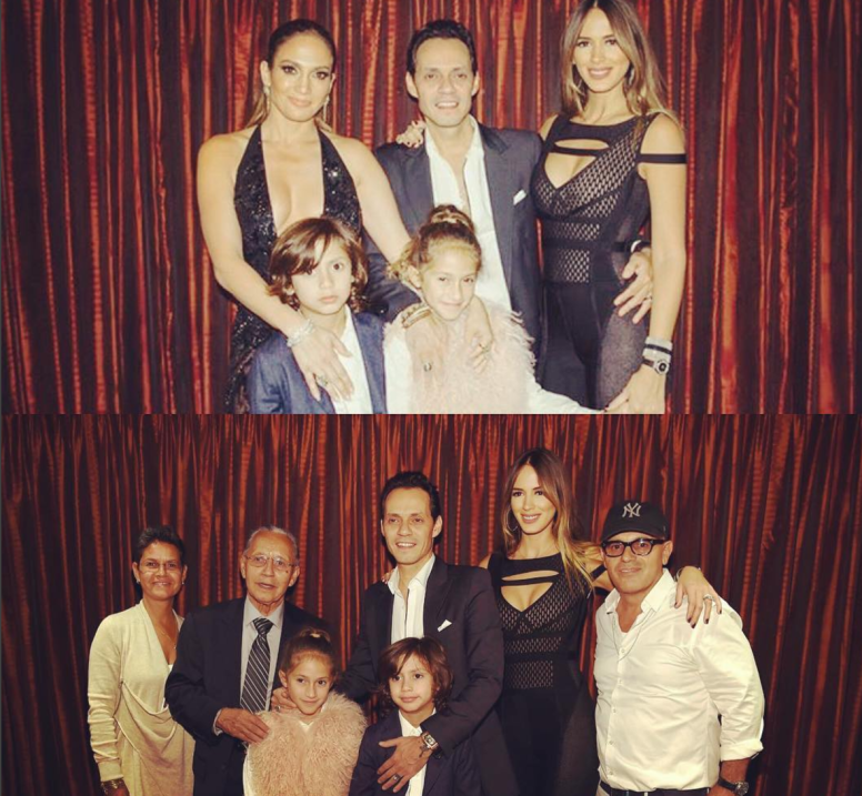 Marc Anthony en familia